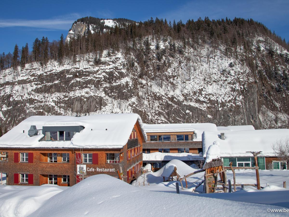 Alpenhotel Post im Winter
